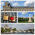 Romantic trip, Paris, France Stock Photography