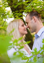 Romantic young couple. Royalty Free Stock Image