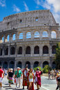 Rome,Amphitheatre Colosseum Royalty Free Stock Images