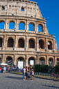 ROME-AUGUST 8: The Colosseum on August 8,2013 in Rome, Italy. Royalty Free Stock Photos