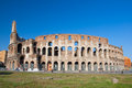 ROME-AUGUST 8: The Colosseum on August 8,2013 in Rome, Italy. Royalty Free Stock Photo