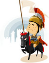 Rome Cavalry Stock Photography
