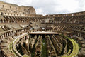 Rome colosseum interior Stock Photos