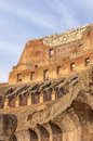 Rome Colosseum Interior detail Royalty Free Stock Photo