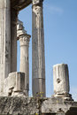 Rome - columns of Forum romanum Royalty Free Stock Photography