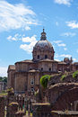Rome - Fori imperiali Stock Photos