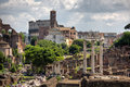 Rome forum Royalty Free Stock Photo
