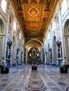Rome, Italy - 15 Jul 2011: Archbasilica of Saint John Lateran, Rome, Italy Royalty Free Stock Photo
