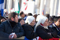 Rome italy march pope francis inauguration mass march rome Stock Photo