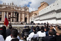 Rome italy march pope francis inauguration mass march rome Royalty Free Stock Photos