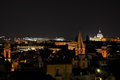 Rome in Italy by night Royalty Free Stock Photography
