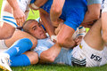 Rome italy november rugby test match italy argentina scrum action during close up Royalty Free Stock Photography