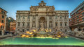 Rome, Italy: The Trevi Fountain Royalty Free Stock Photo