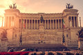 Rome, Italy: Vittoriano, Victor Emmanuel II Monument Royalty Free Stock Photo