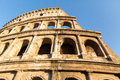 ROME - JULY 21, 2015: Great Colosseum (coliseum), Rome, Italy Royalty Free Stock Photo