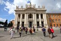 Rome - Lateran basilica Royalty Free Stock Photo