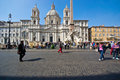 Rome,navona square Royalty Free Stock Photo