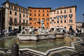 Rome,navona square Stock Photo