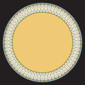 Rome saucer ornament classic design circle Stock Photography