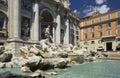 Rome - Trevi Fountain - Italy