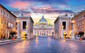 Rome, Vatican city Royalty Free Stock Photo
