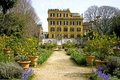 Rome villa borghese landscape park italy lemon english Royalty Free Stock Photography