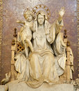 Rome - virgin Mary statue Stock Photography