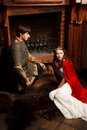 Romeo et Juliet modernes Photo stock