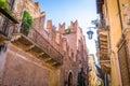 Romeo house in Verona, Italy. Royalty Free Stock Photo