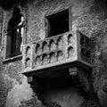 Romeo and juliet balcony in verona italy Stock Photography