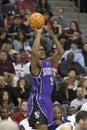 Ron Artest Shoots The Ball