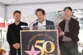 Ron Howard,Russell Crowe,Brian Grazer Stock Photo