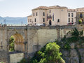 Ronda andalucia spain may view of ronda spain on may unidentified people Royalty Free Stock Photo