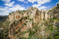 Ronda Rocks in Andalusia Stock Photos