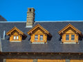 Royalty Free Stock Photos Roof with attic