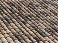 Roof clay tiles Royalty Free Stock Photo