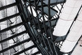 Roof construction metal and glas in bremen klimahaus germany Royalty Free Stock Image