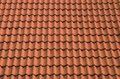 Roof detail red cover gross Stock Photos
