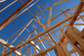Roof frame Stock Photography