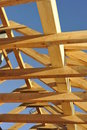 Roof Framework Royalty Free Stock Photo