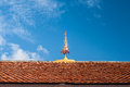 Roof gable apex in temple chiangmai Stock Photography