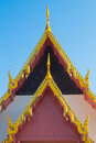 Roof gable in thai style Royalty Free Stock Photography