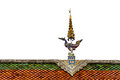 Roof gable in thai style for background Royalty Free Stock Photos