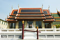 Roof of Grand palace at Wat Phra kaew Temple Royalty Free Stock Photos