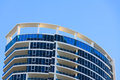 Roof of high rise bulding in gold coast qld australia Royalty Free Stock Photo