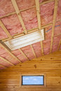 Roof Insulation Royalty Free Stock Photo