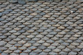 Roof made of stone Royalty Free Stock Photography