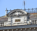 Roof of an old building Royalty Free Stock Photo