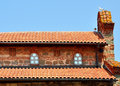 Roof of old building Royalty Free Stock Photo