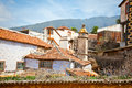 Roof of old house in la orotava tenerife spain canary islands Royalty Free Stock Photos
